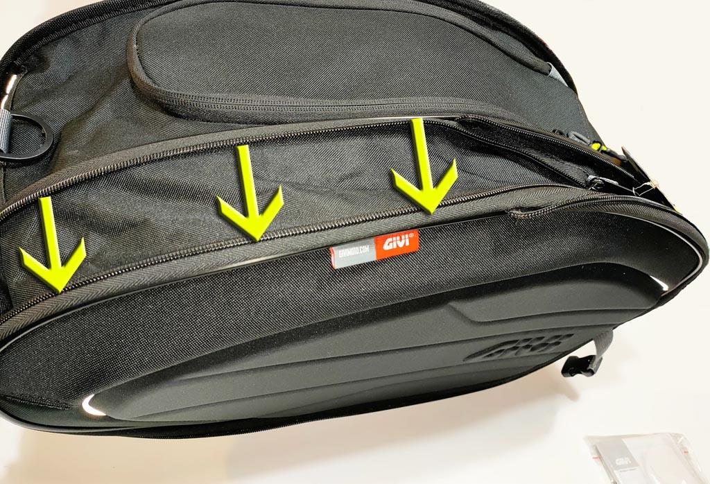 Voglia di viaggiare con le borse morbide EA100B di Givi