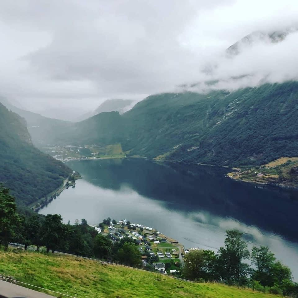 Norvegia incantevole in sella all'inseparabile BMW GS